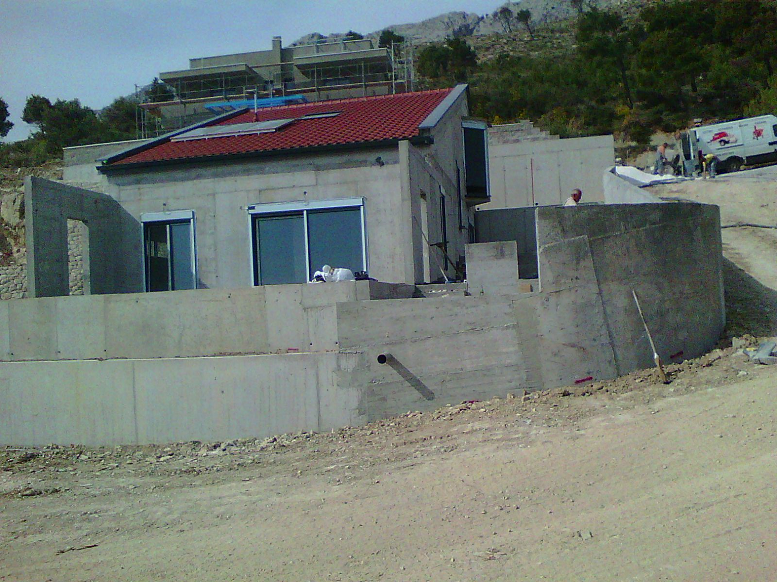 Izgradnja vodospreme, dovodnog i odvodnog cjevovoda